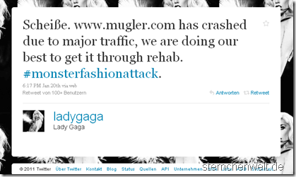 Lady Gagas Tweet
