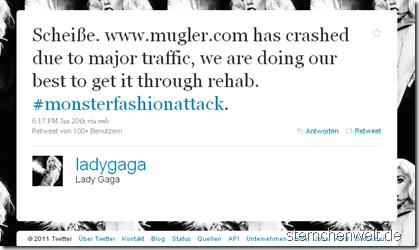 Lady Gagas Tweet