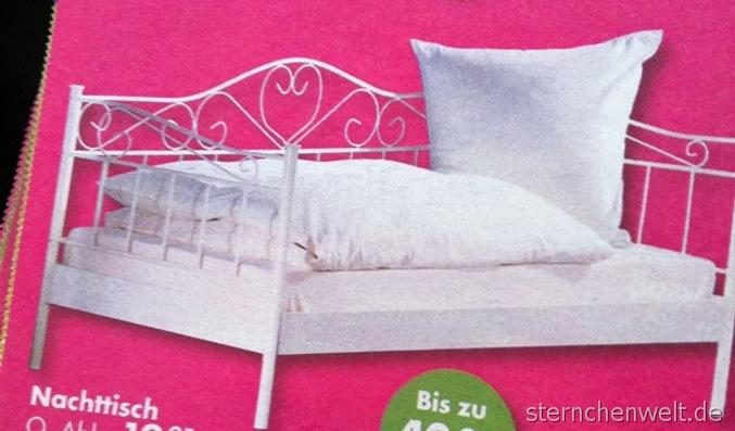 Metallbett weiß dänisches bettenlager  Ein neues Bett fürs Ninadings!