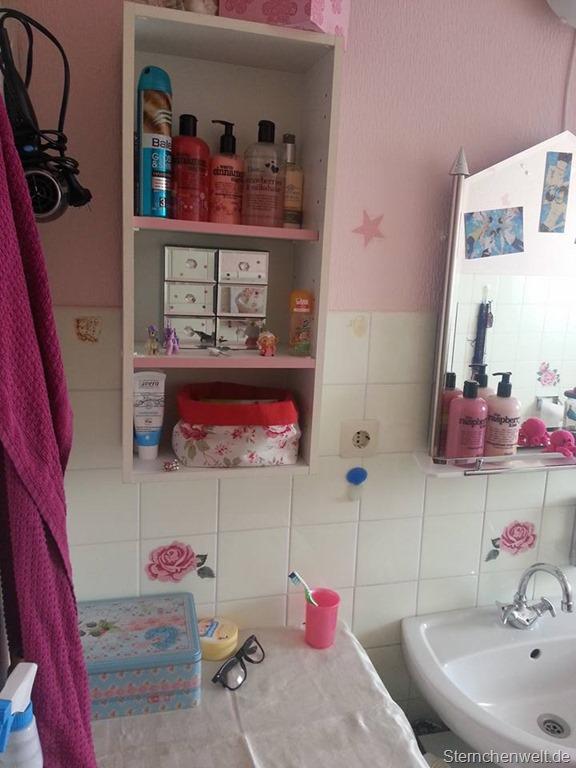 Mein rosa Badezimmer